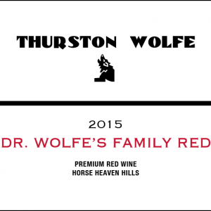 DR. Wolfe's Family Red 2014